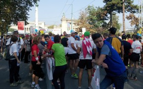 Runners on start line