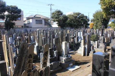 Japanese cemetery yanaka tokyo