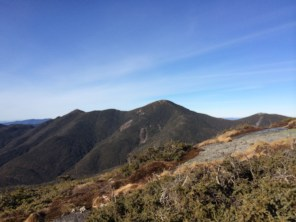 Algonquin, Boundary and Iroquois from false summit