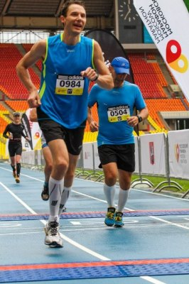 Moscow marathon 2013_finish