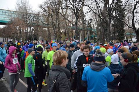 Gorky Park Run Before Start