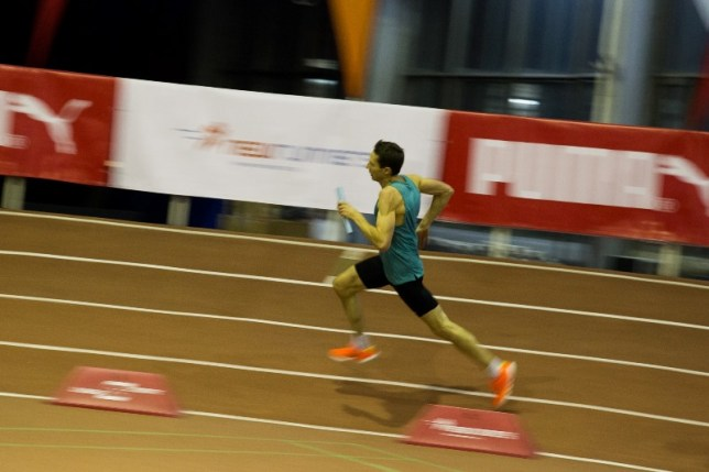 Relay Moving Fast