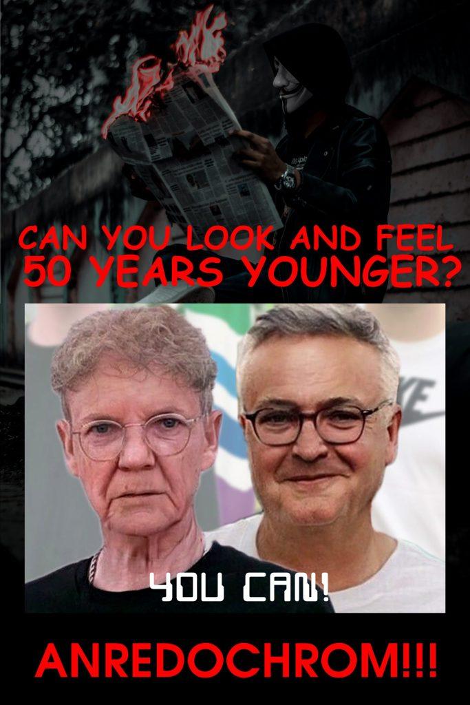 Anredochrom lässt sie 50 Jahre jünger aussehen