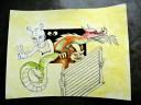 Färgläggning pågår. Illustration: Anita Oloo-Toddo