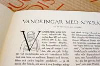 En av artiklarna i första numret av Quo Vadis.