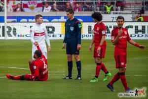 Der VfB trat heute wieder zu nett auf. © Bild: VfB-Bilder.de