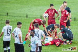 Am Ende war der Sieg mehr Arbeit als gedacht. Bild © VfB-Bilder.de