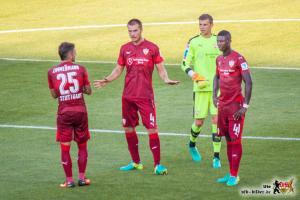 """""""Jungs, glaubt mir, ich hab das im Griff."""" Die Leiden des jungen T. Bild © VfB-Bilder.de"""