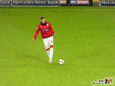 Hoffnungsträger Daniel Ginczek. Muss das sein? Bild © VfB-Bilder.de