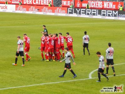 Der VfB macht dem FWK das Jubeln leicht. Bild © VfB-Bilder.de