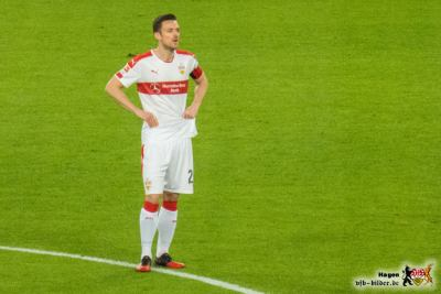 Auch Gentner ist ratlos. © VfB-Bilder.de