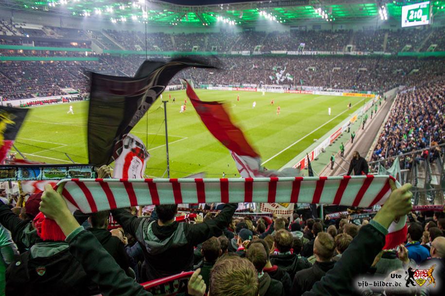 Rund um das Spiel in Mönchengladbach