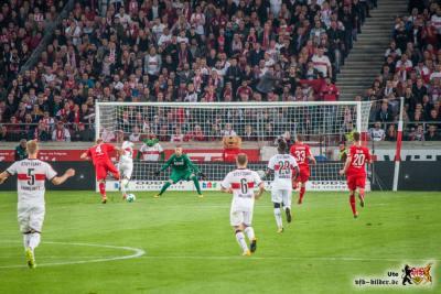 Donis auf dem Weg zum 1:0. Bild: © VfB-Bilder.de