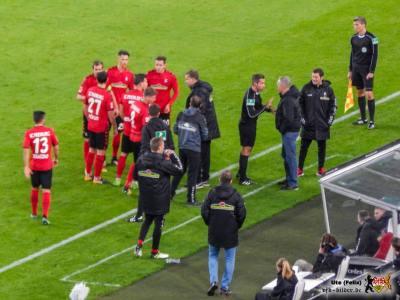 Der Videobeweis sorgt weiter für Unmut. Bild: © VfB-Bilder.de