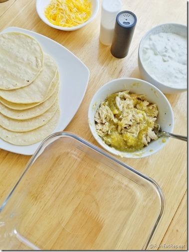 light sour cream enchiladas