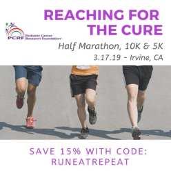 reaching for cure half marathon 10k 5k discount code
