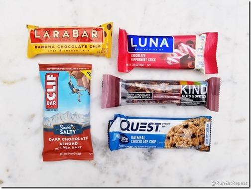favorite protein bars for runners running blog 7