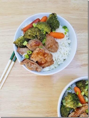 Quick Pork Teriyaki Bowl Recipe Run Eat Repeat 3