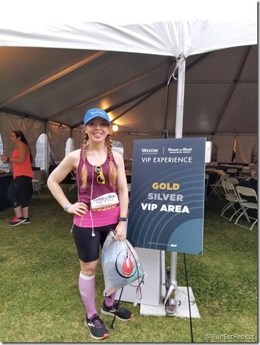 Rock N Roll San Diego Half Marathon results recap running blog tent 1