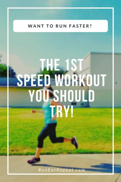 new runner speed work