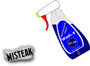 spray cleaner