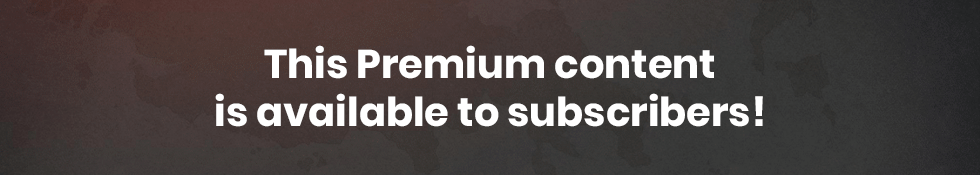 This Premium content is available to subscribers!