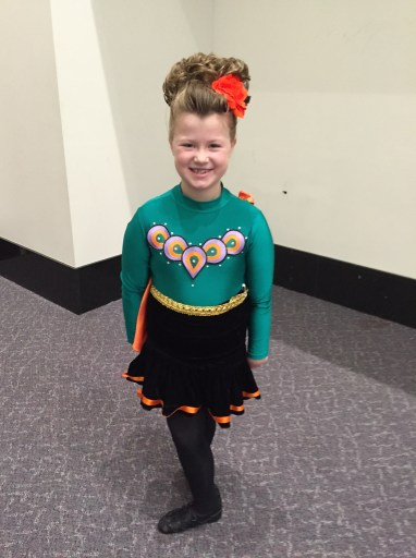 Addie ready to dance!