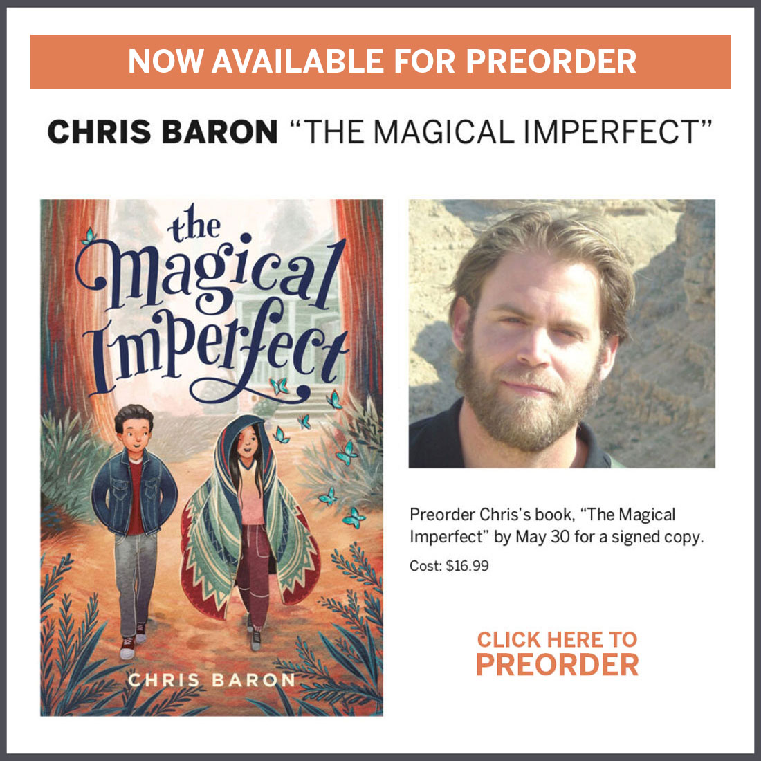 Chris Baron Preorder The Magical Imperfect