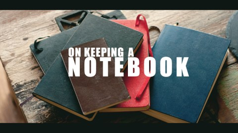 The more notebooks you have, the better you are. #wisdom