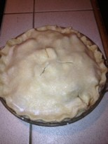 christmas apple pie