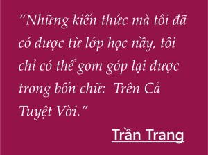 Tran Trang for Option