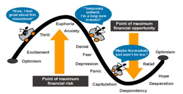 Investor emotion cycle