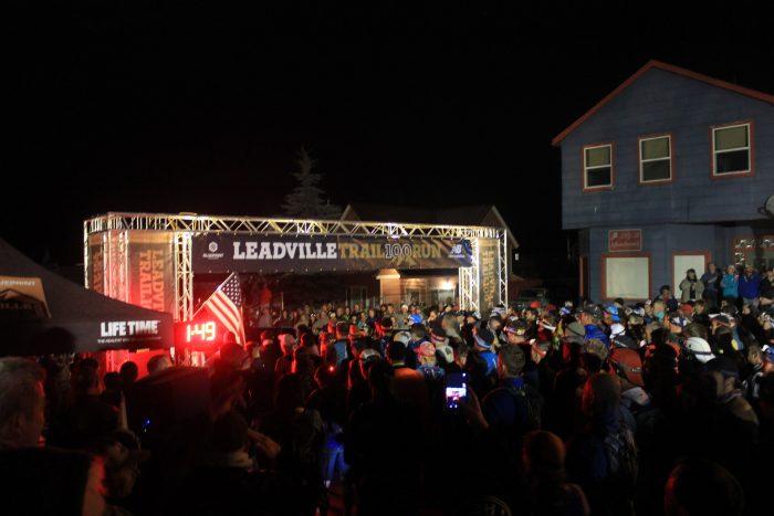Leadville 100 mile start line