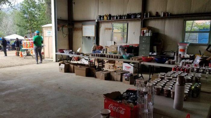 Aid station leadville 100 trail run