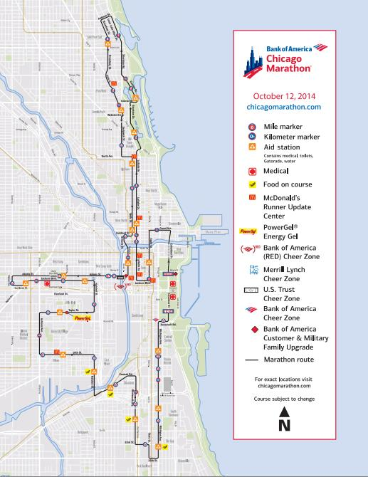 Chicago-Marathon-map