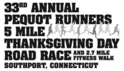 Pequot Runners Thanksgiving Day 5-Mile Race