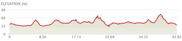 KLMarathon_elevation map