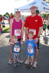 Running participation has rapidly grown for families.