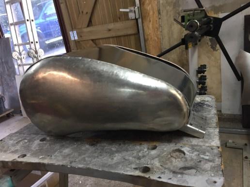 Fabrication réservoir aluminium