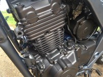 peinture moteur run iron works moto cb 500