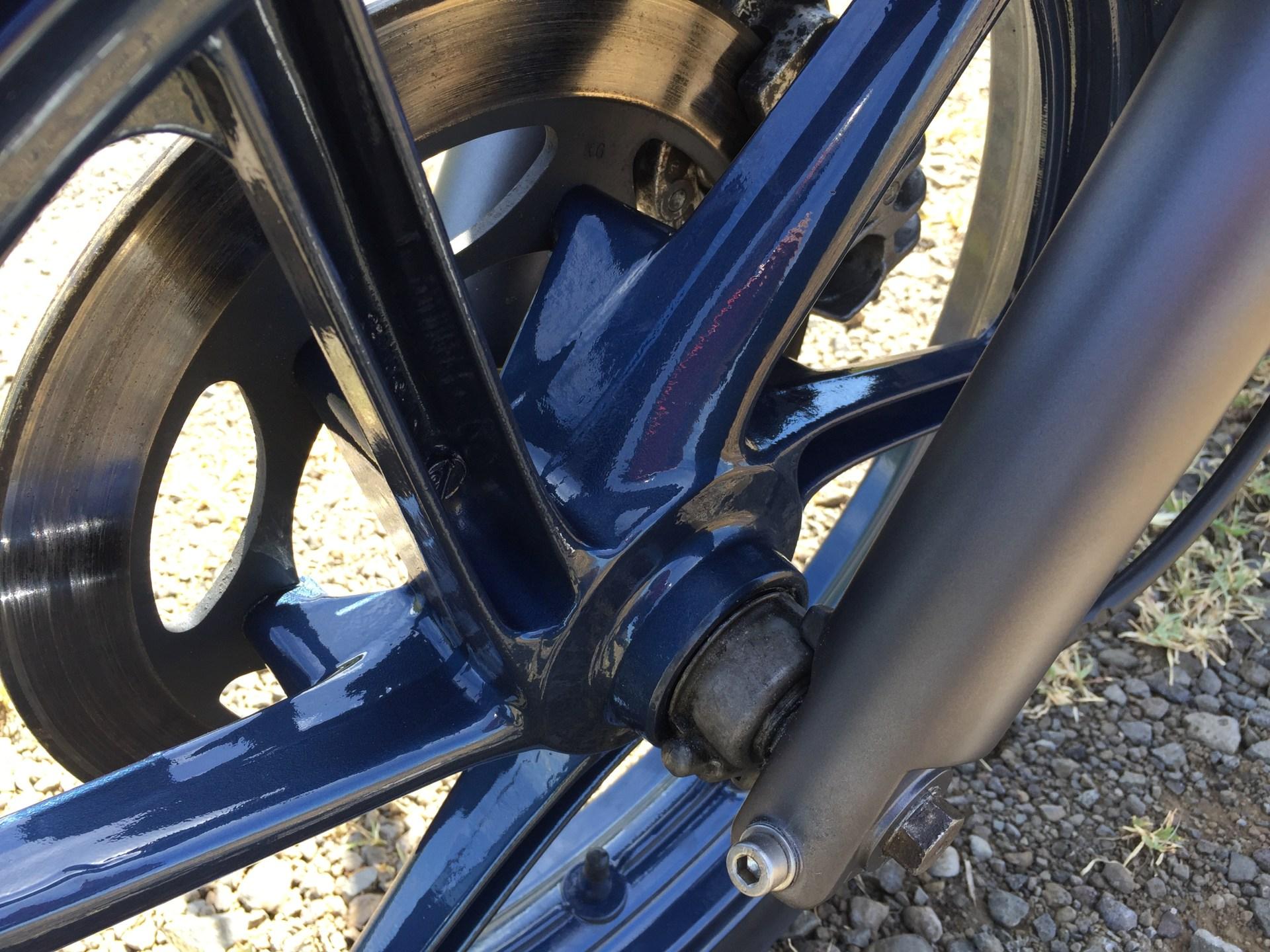 Honda cb 500 a2 by run iron works preparation transformation moto hérault aude