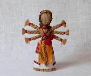 Лизка. Заговорные куклы Обережки-мотанки