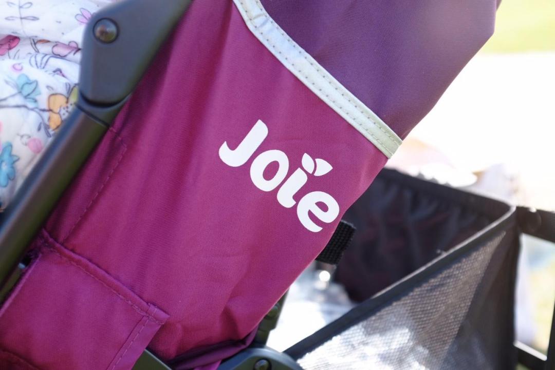 Joie Nitro Stroller in mulberry