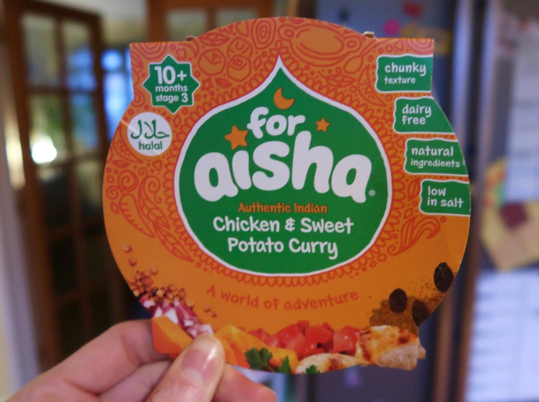 For Aisha chicken and sweet potato curry pack