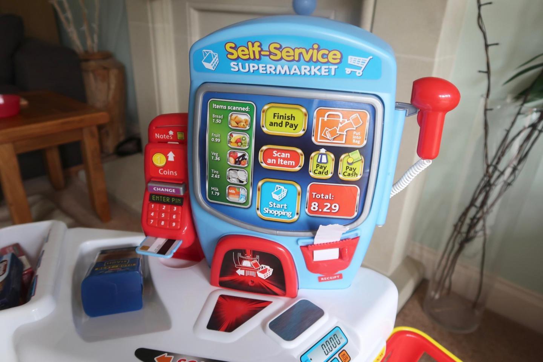 casdon self service supermarket scanner