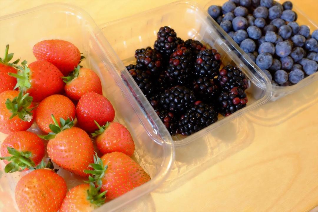 selection of berries