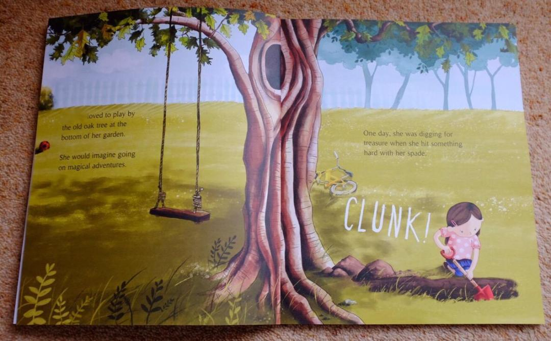 Librio Inside The Tree, The Key and Me Book