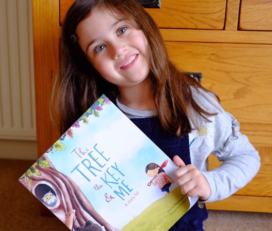 Librio Personalised Books for Kids – The Tree, The Key & Me