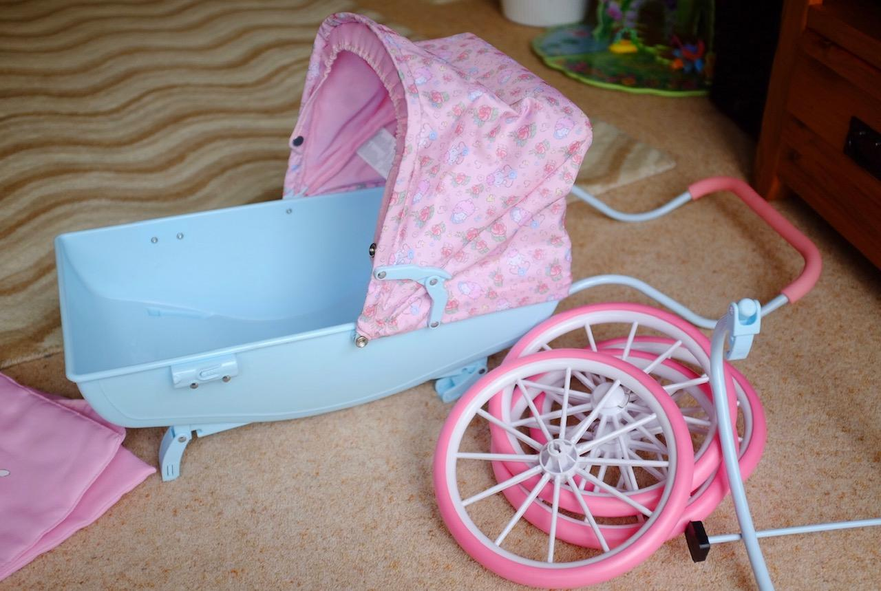 Parts of the Baby Annabelle Carriage pram