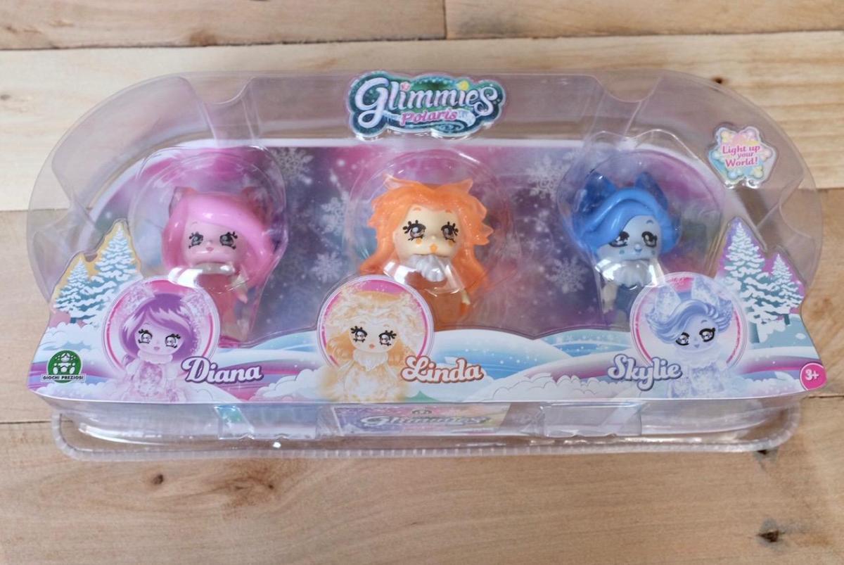 Glimmies Polaris triple pack
